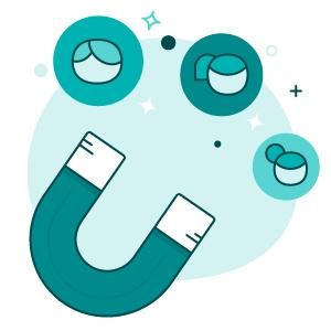 software embuda de ventas - Atrae leads y recopila datos de contacto