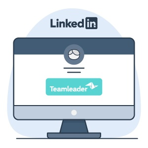 cualificar leads con Teamleader - LinkedIn