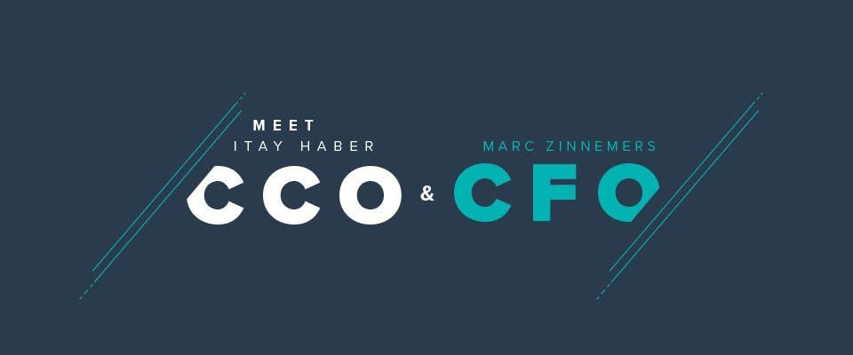 Itay Haber (CCO) y Marc Zinnemers (CFO), nuevos miembros del equipo de dirección ejecutiva de Teamleader